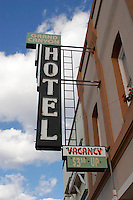 The Grand Canyon Hotel in Williams, Arizona continues to advertise rooms for $3.50 and up. Williams was founded in the late 1800's by lumbermen, ranchers, and railroaders. Located on Route 66 Williams was also the last section of Route 66 to be bypassed by the interstate. Located 60 miles south of the South Entrance to the Grand Canyon Williams is a popular tourist destination and also the terminus for the Grand Canyon Railway and its trains into the Grand Canyon.