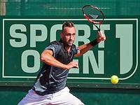 Netherlands, The Hague, Juli 21, 2015, Tennis,  Sport1 Open, Thomas Schoorel  (NED)<br /> Photo: Tennisimages/Henk Koster