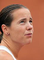 12-8-09, Den Bosch,Nationale Tennis Kampioenschappen, 1e ronde, Kim Kilsdonk