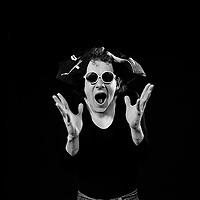 Session de portrait studio avec<br /> Pierre Verville, 15 juillet 1983