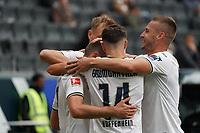 celebrate the goal, Torjubel zum 0:1 Andrej Kramaric (TSG 1899 Hoffenheim)<br /> - 03.10.2020: Fussball  Bundesliga, Saison 20/21, Spieltag 3, Eintracht Frankfurt vs. TSG 1899 Hoffenheim, emonline, emspor, v.l. Deutsche Bank Park<br /> Foto: Marc Schueler/Sportpics.de <br /> Nur für journalistische Zwecke. Only for editorial use. (DFL/DFB REGULATIONS PROHIBIT ANY USE OF PHOTOGRAPHS as IMAGE SEQUENCES and/or QUASI-VIDEO)