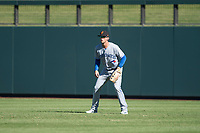 Surprise Saguaros right fielder Cavan Biggio (26), of the Toronto Blue Jays organization, during an Arizona Fall League game against the Salt River Rafters at Salt River Fields at Talking Stick on November 5, 2018 in Scottsdale, Arizona. Salt River defeated Surprise 4-3 . (Zachary Lucy/Four Seam Images)