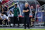 Bayern Munich Coach Carlo Ancelotti reacts during the International Champions Cup match between FC Bayern and FC Internazionale at National Stadium on July 27, 2017 in Singapore. Photo by Marcio Rodrigo Machado / Power Sport Images