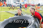 Competing in the Beachfit Games in Waterville on Saturday were l-r; Maria Lynch & Mairead McMahon.
