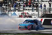 2017 NASCAR XFINITY Series - Rinnai 250<br /> Atlanta Motor Speedway, Hampton, GA USA<br /> Saturday 4 March 2017<br /> Kyle Busch, NOS Energy Drink Toyota Camry celebrates<br /> World Copyright: Barry Cantrell/LAT Images<br /> ref: Digital Image 17ATLbc2418