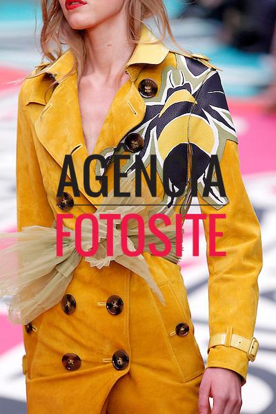 Londres, Inglaterra '09/2014 - Desfile de Burberry Prorsum durante a Semana de moda de Londres  -  Verao 2015. <br /> <br /> Foto: FOTOSITE