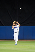 Florida Gators center fielder Nick Horvath (26) catches a fly ball during a game against the Siena Saints on February 16, 2018 at Alfred A. McKethan Stadium in Gainesville, Florida.  Florida defeated Siena 7-1.  (Mike Janes/Four Seam Images)