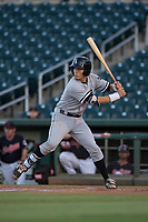 AZL White Sox catcher Ty Greene (26) at bat during an Arizona League game against the AZL Indians 1 at Goodyear Ballpark on June 20, 2018 in Goodyear, Arizona. AZL Indians 1 defeated AZL White Sox 8-7. (Zachary Lucy/Four Seam Images)