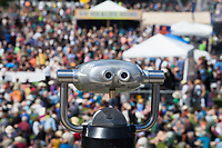 Spy Viewing Machine, Northwest Folklife Festival 2016, Seattle Center, Washington, USA.
