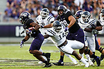 TCU Horned Frogs running back Darius Anderson (6) in action during the game between the Jackson State Tigers and the TCU Horned Frogs at the Amon G. Carter Stadium in Fort Worth, Texas.
