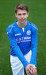 St Johnstone FC Academy U17's<br /> Joe Johnson<br /> Picture by Graeme Hart.<br /> Copyright Perthshire Picture Agency<br /> Tel: 01738 623350  Mobile: 07990 594431