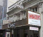 'Indecent' - Theatre Marquee