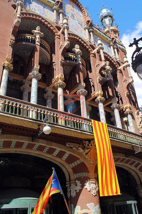 Diada Nacional 2017.<br /> Palau de la Musica Catalana.