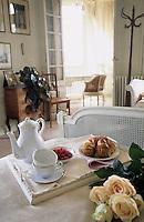 Europe/France/Normandie/Basse-Normandie/14/Calvados/Deauville: Petit déjeuner à la villa Strassburger - [Mention obligatoire]