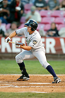 Corey Adamson, 2010 Eugene Emeralds, playing here against the Salem-Keizer Volcanoes at Volcanoes Stadium in Keizer, OR - 09/03/2010.Photo by:  Bill Mitchell/Four Seam Images..