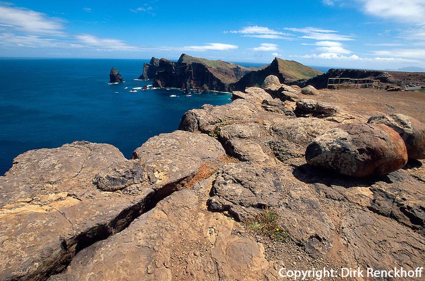 Portugal, Madeira, auf der Halbinsel Ponta de Sao Lourenco