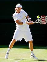 23-6-09, England, London, Wimbledon, Robert Kendrick