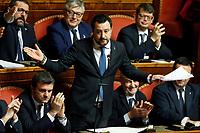 20200212 Senato Voto su processo a Salvini