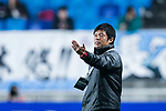 Kawasaki Frontale Head Coach Oniki Toru gestures during the AFC Champions League 2017 Group G match between Suwon Samsung Bluewings (KOR) vs Kawasaki Frontale (JPN) at the Suwon World Cup Stadium on 25 April 2017, in Suwon, South Korea. Photo by Yu Chun Christopher Wong / Power Sport Images