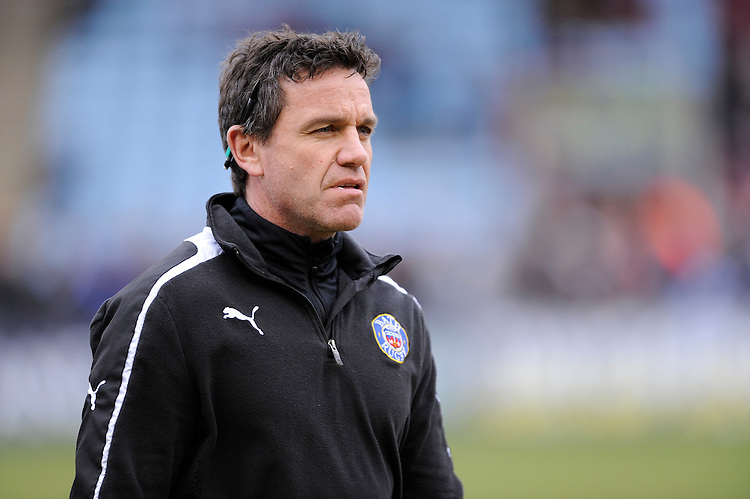 Mike Ford, Bath Rugby First Team Coach, before the Aviva Premiership match between Harlequins and Bath Rugby at the Twickenham Stoop on Saturday 13th April 2013 (Photo by Rob Munro)