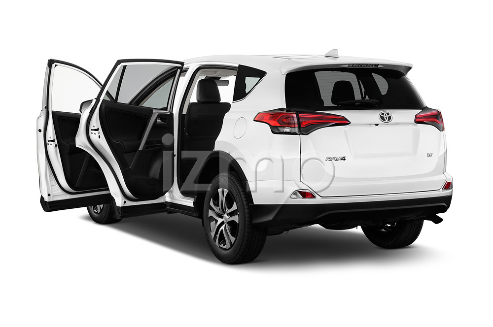 Car images close up view of a 2018 Toyota RAV4 LE 5 Door SUV doors
