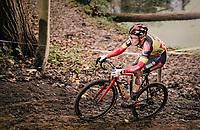 Belgian National CX Champion Laurens Sweeck (BEL/Pauwels Sauzen-Bingoal)<br /> <br /> 2020 Superprestige Gavere (BEL)<br /> <br /> ©kramon