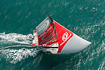 Dongfeng Race Team trains on Hainan waters ahead the 2014/15 Volvo Ocean Race on February 23, 2014 in Sanya, China. Photo by Victor Fraile / Power Sport Images
