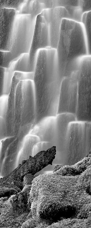 Proxy Falls. Three Sisters Wilderness, Oregon