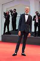 """VENICE, ITALY - SEPTEMBER 10: Enzo Miccio walks the red carpet ahead of the movie """"Nuevo Orden"""" (New Order) at the 77th Venice Film Festival on September 10, 2020 in Venice, Italy. <br /> CAP/MPI/AF<br /> ©AF/MPI/Capital Pictures"""