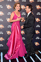 """Dame Darcey Bussell and Bruno Tonioli<br /> at the launch of """"Strictly Come Dancing"""" 2018, BBC Broadcasting House, London<br /> <br /> ©Ash Knotek  D3426  27/08/2018"""