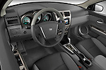 High angle dashboard view of a 2008 Dodge Avenger RT