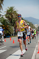 Triathlete Francois Chabaud, Ironman France 2012, Nice, France, 24 June 2012