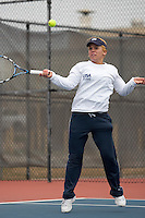 SAN ANTONIO, TX - FEBRUARY 10, 2007: The University of Texas-Pan American Broncos vs. The University of Texas at San Antonio Roadrunners Women's Tennis at the UTSA Tennis Center. (Photo by Jeff Huehn)
