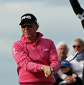 Miguel Angel JIMENEZ (ESP) during round one of the 2016 Aberdeen Asset Management Scottish Open played at Castle Stuart Golf Golf Links from 7th to 10th July 2016: Picture Stuart Adams, www.golftourimages.com: 07/07/2016