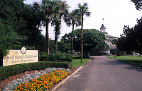 Jekyll Island Club Resort, Jekyll Island an upscale hotel in the Georgia Islands USA