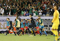 CHICAGO, ILLINOIS - JULY 07: Mexico defeats the USA in the 2019 Gold Cup Final during the 2019 CONCACAF Gold Cup Final match between the United States and Mexico at Soldier Field on July 07, 2019 in Chicago, Illinois.