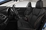 Front seat view of a 2018 Subaru XV Premium 5 Door SUV front seat car photos