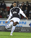 21/11/2009  Copyright  Pic : James Stewart.sct_jspa17_falkirk_v_hamilton  . :: PELE MAKES HIS DEBUT FOR FALKIRK :: .James Stewart Photography 19 Carronlea Drive, Falkirk. FK2 8DN      Vat Reg No. 607 6932 25.Telephone      : +44 (0)1324 570291 .Mobile              : +44 (0)7721 416997.E-mail  :  jim@jspa.co.uk.If you require further information then contact Jim Stewart on any of the numbers above.........