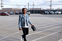 Harrison, NJ - Tuesday April 10, 2018: Tyler Adams prior to leg two of a  CONCACAF Champions League semi-final match between the New York Red Bulls and C. D. Guadalajara at Red Bull Arena. C. D. Guadalajara defeated the New York Red Bulls 0-0 (1-0 on aggregate).