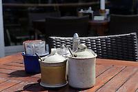 Café Big Vern's, St. Quen's Bay, Insel Jersey, Kanalinseln