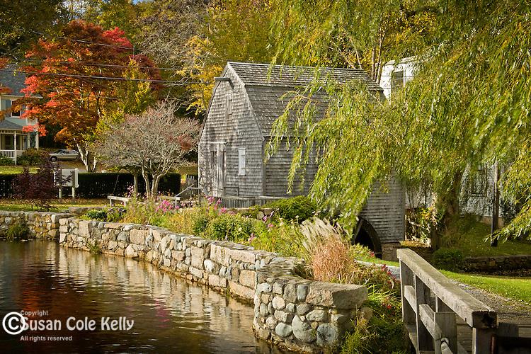 The Dexter Gristmill in Sandwich, Cape Cod, MA
