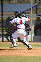 Felix Nieto participates in the International Prospect League Showcase at the New York Yankees academy in Boca Chica, Dominican Republic on January 24, 2014 (Bill Mitchell)