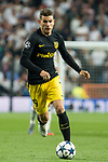 Lucas Hernandez of Atletico de Madrid  during the match of Champions League between Real Madrid and Atletico de Madrid at Santiago Bernabeu Stadium  in Madrid, Spain. May 02, 2017. (ALTERPHOTOS/Rodrigo Jimenez)