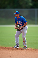 New York Mets Vinny Siena (9) during a minor league Spring Training game against the St. Louis Cardinals on March 31, 2016 at Roger Dean Sports Complex in Jupiter, Florida.  (Mike Janes/Four Seam Images)