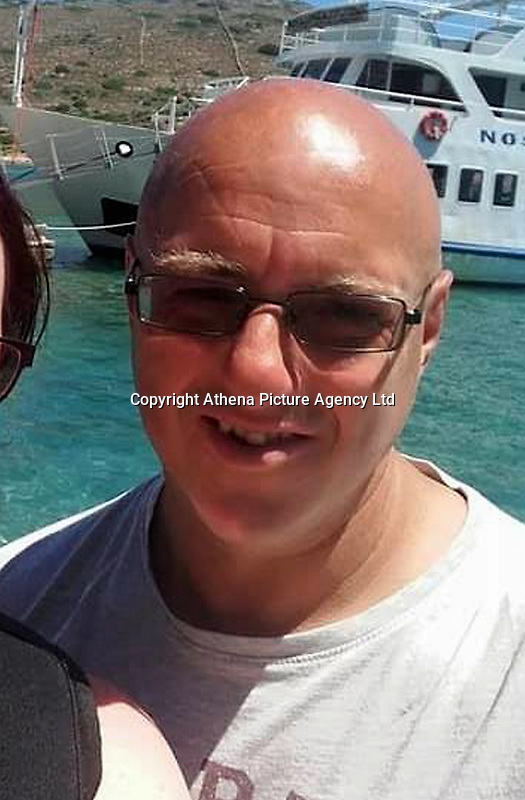 """Pictured: Robert Patterson<br /> Re: A biker was killed by a pheasant flying into his crash helmet fracturing his skull.<br /> Father-of-four Robert Patterson, 51, from Llandudno Junction in north Wales, was doing up to 65mph when the bird flew out of the hedgerow,<br /> An inquest heard a biker pal riding behind saw a """"plume of feathers"""" before Robert crashed.<br /> A post mortem revealed the force of the 6lb female pheasant hitting Robert's helmet was enough to fracture his skull.<br /> Pathologist Dr Mark Lord said: """"It was a significant impact. It was instant death.<br /> """"Mr Patterson suffered multiple injuries including a blow to the head and facial injuries, as well as the skull fracture""""<br /> Window cleaner Robert was riding with friends through Mid Wales when the tragedy happened on the A470 last November."""