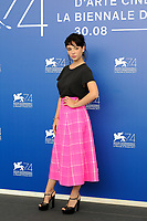 Italian actress Matilda De Angelis attends a photo call for the movie 'Una Famiglia' at the 74th Venice Film Festival, Venice Lido, September 4, 2017. <br /> UPDATE IMAGES PRESS/Marilla Sicilia<br /> <br /> *** ONLY FRANCE AND GERMANY SALES ***