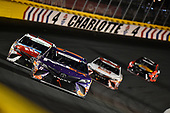 Monster Energy NASCAR Cup Series<br /> Coca-Cola 600<br /> Charlotte Motor Speedway, Concord, NC USA<br /> Sunday 28 May 2017<br /> Denny Hamlin, Joe Gibbs Racing, FedEx Office Toyota Camry, Kyle Busch, Joe Gibbs Racing, M&M's Red, White & Blue Toyota Camry, Matt Kenseth, Joe Gibbs Racing, Circle K Toyota Camry, Martin Truex Jr, Furniture Row Racing, Bass Pro Shops/TRACKER BOATS Toyota Camry<br /> World Copyright: John K Harrelson<br /> LAT Images<br /> ref: Digital Image 17CLT2jh_04939