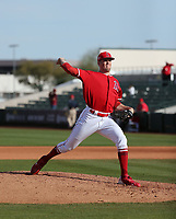 Ty Buttrey - Los Angeles Angels 2019 spring training (Bill Mitchell)