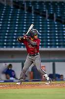 AZL Diamondbacks Jancarlos Cintron (6) at bat against the AZL Cubs on August 11, 2017 at Sloan Park in Mesa, Arizona. AZL Cubs defeated the AZL Diamondbacks 7-3. (Zachary Lucy/Four Seam Images)