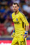 FC Internazionale Goalkeeper Daniele Padelli in action during the International Champions Cup 2017 match between FC Internazionale and Chelsea FC on July 29, 2017 in Singapore. Photo by Marcio Rodrigo Machado / Power Sport Images